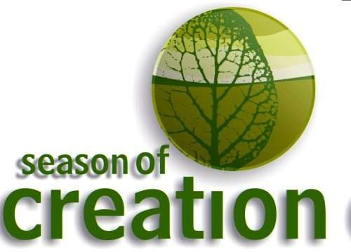 Season of Creation logo with graphic of the globe and a leaf